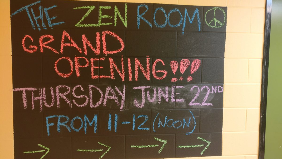 Zen Room Opening Sign