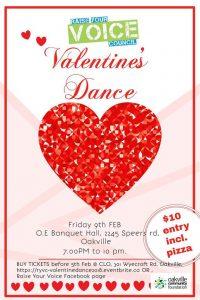 Valentine's Dance Poster